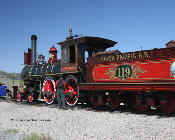 Transcontinental Railroad at Golden Spike Celebration
