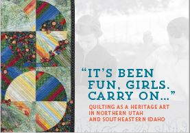 "Quilt Book "" It's Been Fun, Girls. Carry on…"""