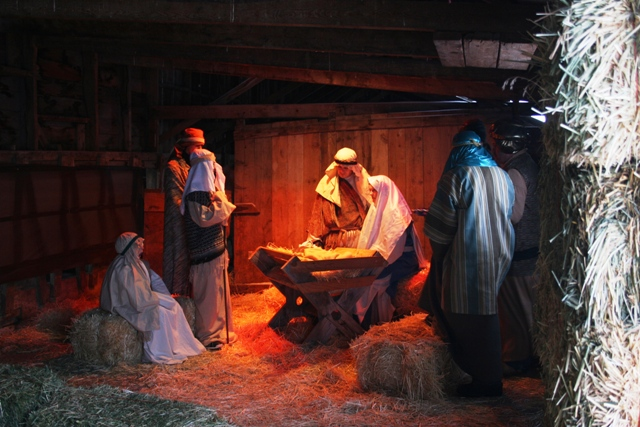 Live Nativity at the Old Morgan Barn in Nibley, Utah